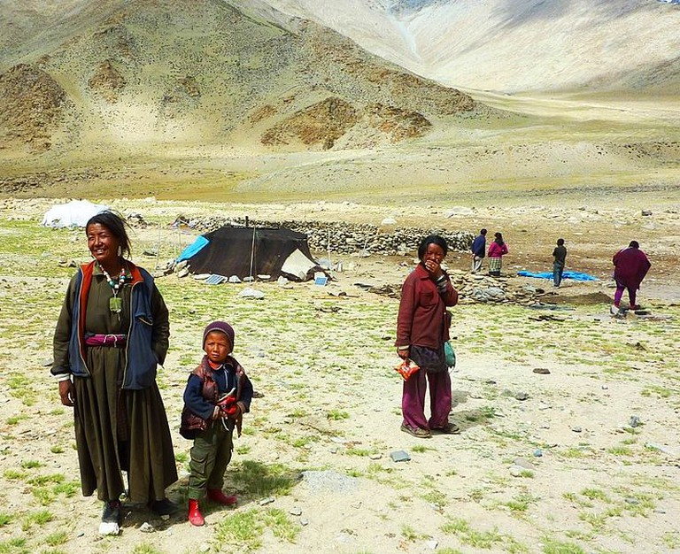 Nomads on the Changtang, Ladakh | © John Hill/Wikicommons
