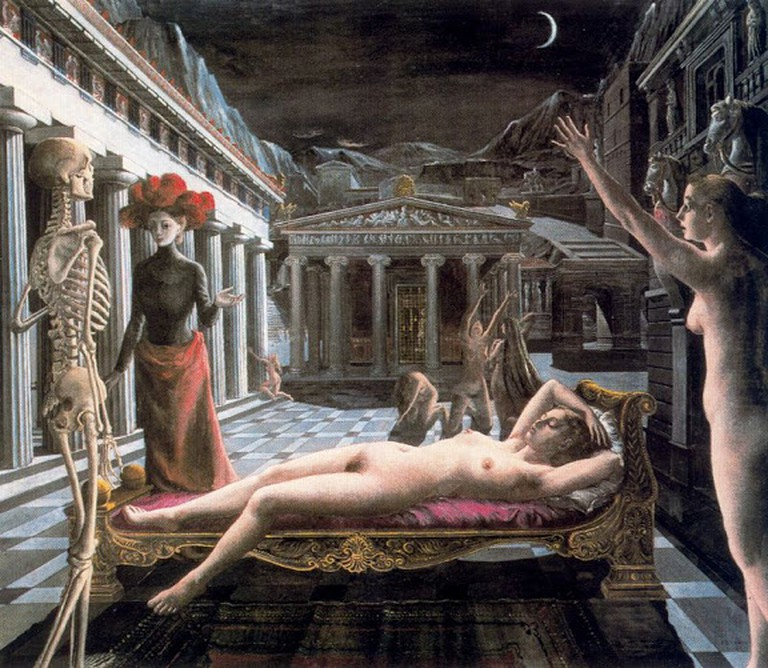The Sleeping Venus by Paul Delvaux | © ... ve Sanat/Picasa