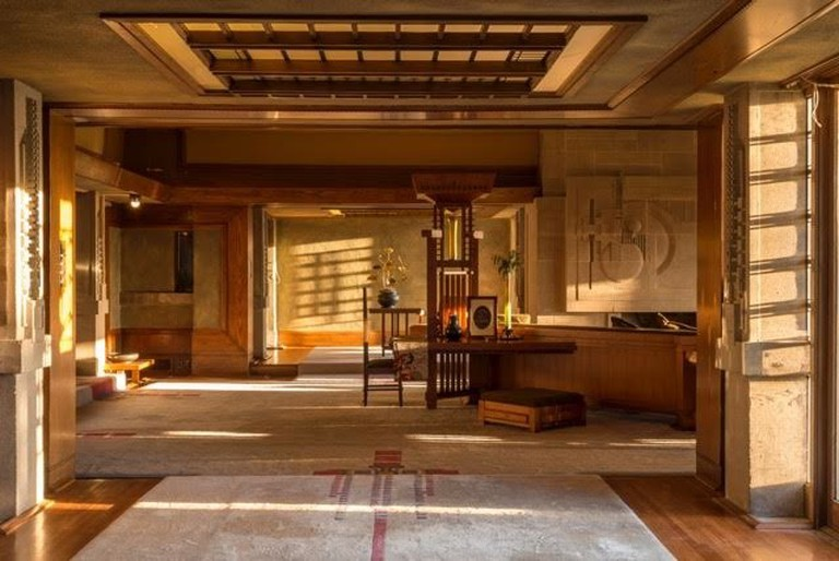 Hollyhock House interior © Joshua White