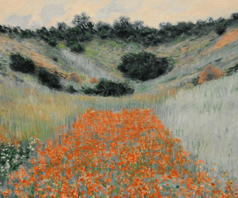 Poppy field hollow near Giverny, 1900