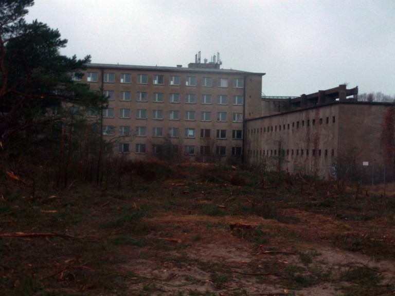 The Prora resort as it is now – derelict and forgotten