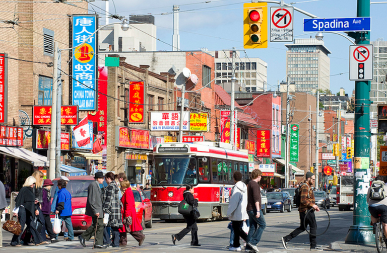 Toronto: Dundas St, Chinatown | © The City of Toronto/Flickr
