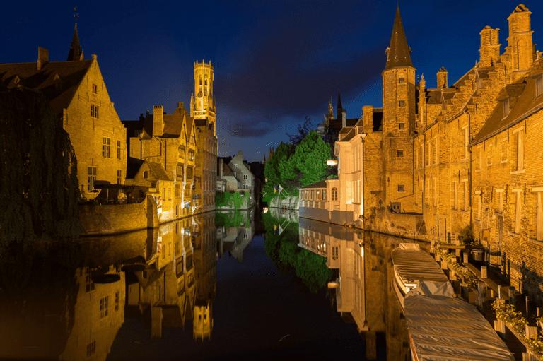 Bruges reflected |Jiuguang Wang/Flickr