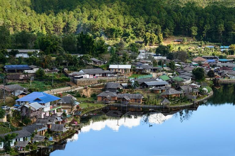 Ban Rak Thai Village, Pai, Mae Hong Son ,Thailand