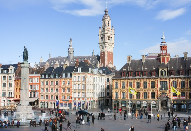 Place General de Gaulle in Lille, France | © jorisvo / Shutterstock