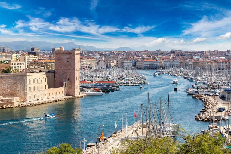 Vieux port in Marseille, France | © S-F / Shutterstock