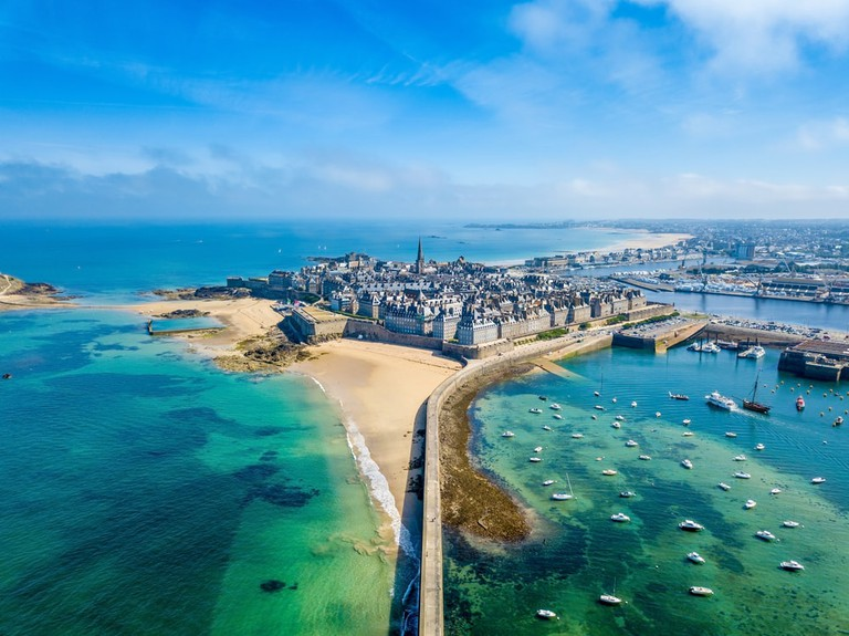 Saint-Malo in Brittany, France