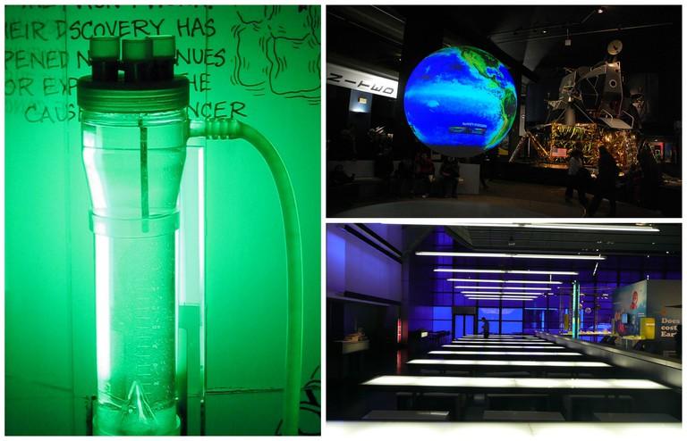 © Cellex Bioreactor/WikiCommons | © Science Museum London/WikiCommons | © Globe, Science Museum/WikiCommons