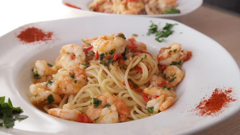 Shrimp Pasta | © Romi/Pixabay