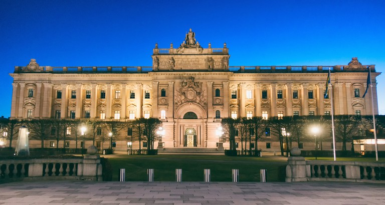 Guided tours of the Riksdag are available and certainly recommended