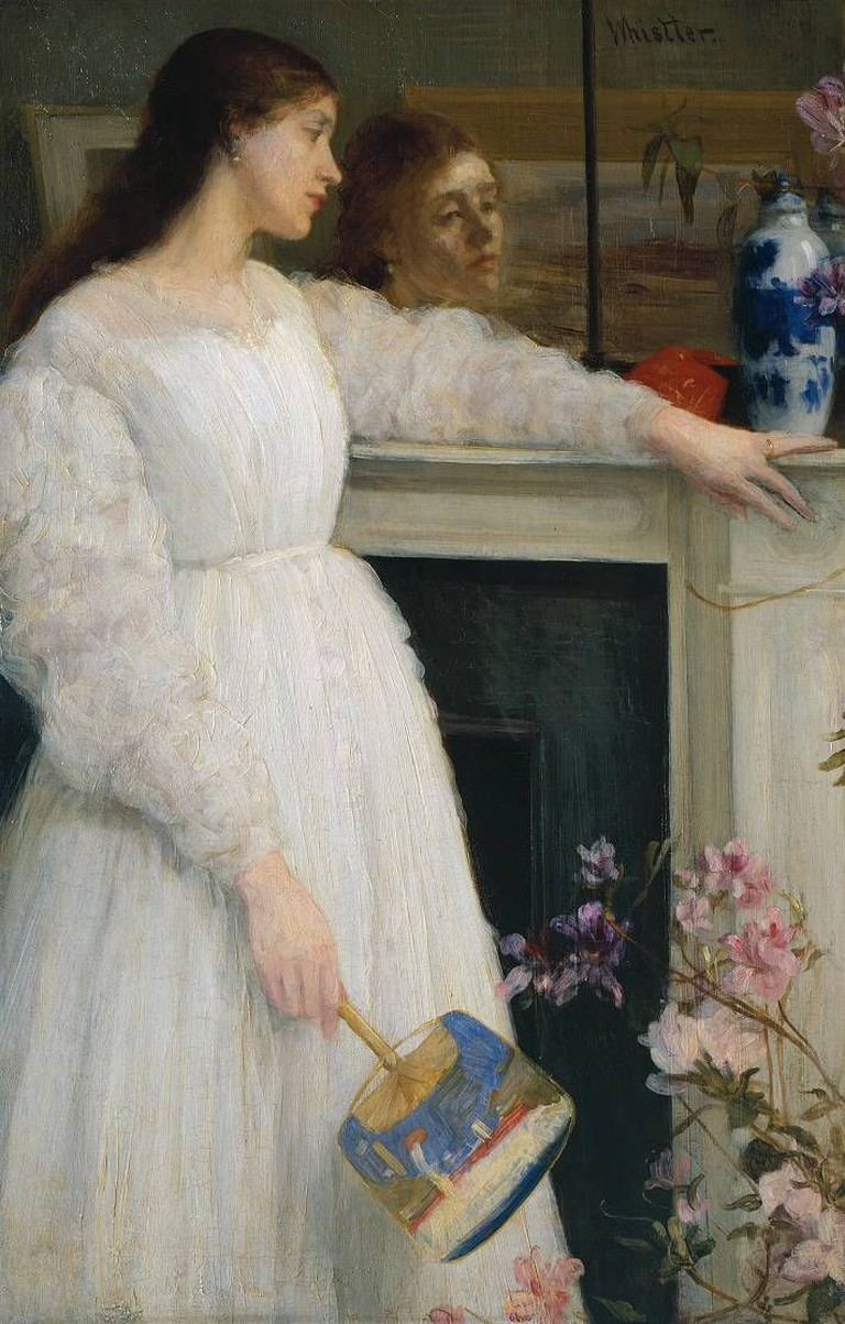 Symphony in White, No. 2: The Little White Girl, 76.5 x 51.1 cm, Tate Britain, 1864 | © Pimbrils/WikiCommons