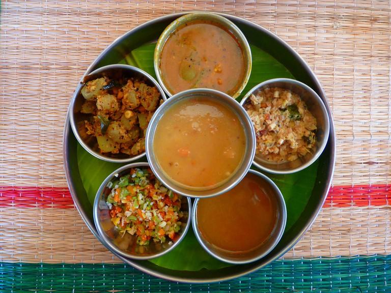 Indian Cuisine | © LoggaWiggler/Pixabay