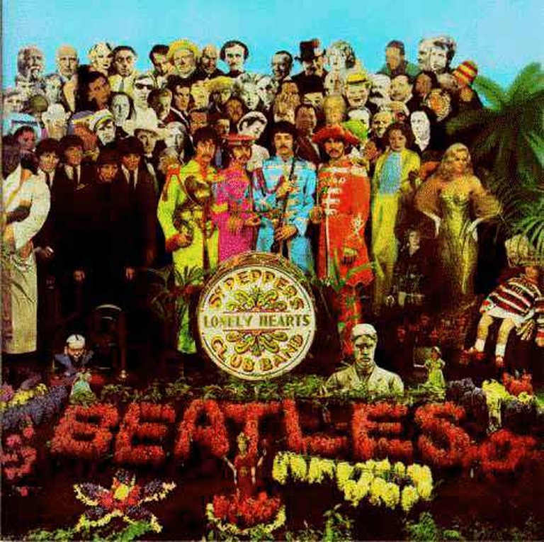 The Beatles - Sgt. Pepper's Lonely Hearts Club Band (By Peter Blake) | © Sarah W/Flickr