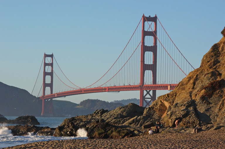 The Golden Gate Bridge from Baker Beach © Damian Gadal/Flickr
