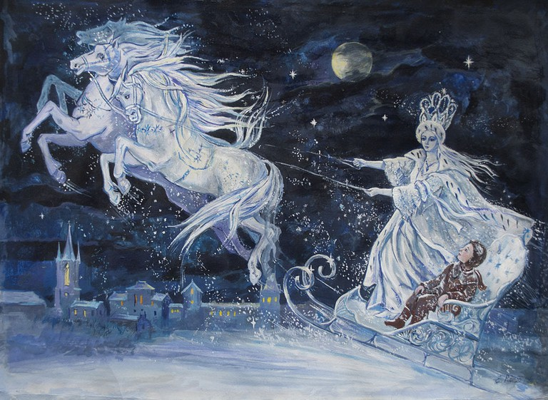 'The Snow Queen' -fairy tale-Hans Christian Andersen