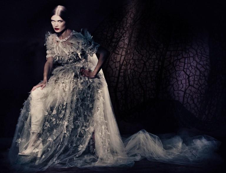 Malgosia Bela photographed in Vogue Italia 2013