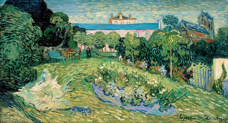 Vincent van Gogh, 'Daubigny's Garden', 1890, oil on canvas