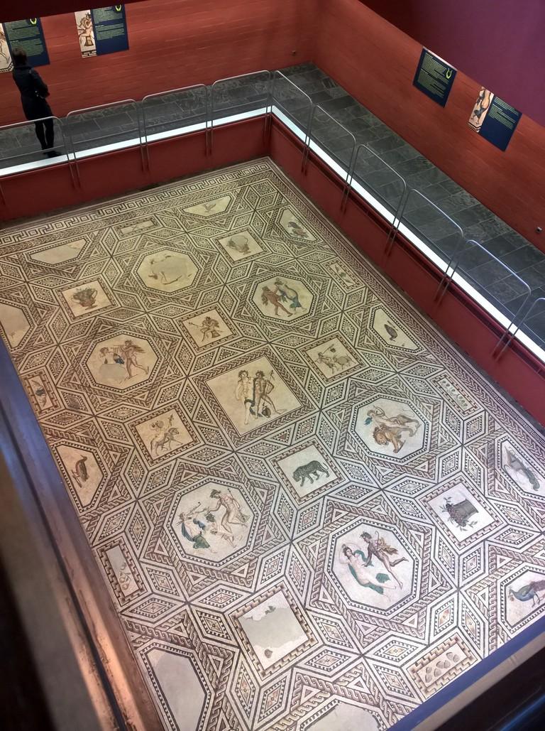 Dionysus Mosaic, Roman-Germanic Museum Cologne | © Robert Hugill