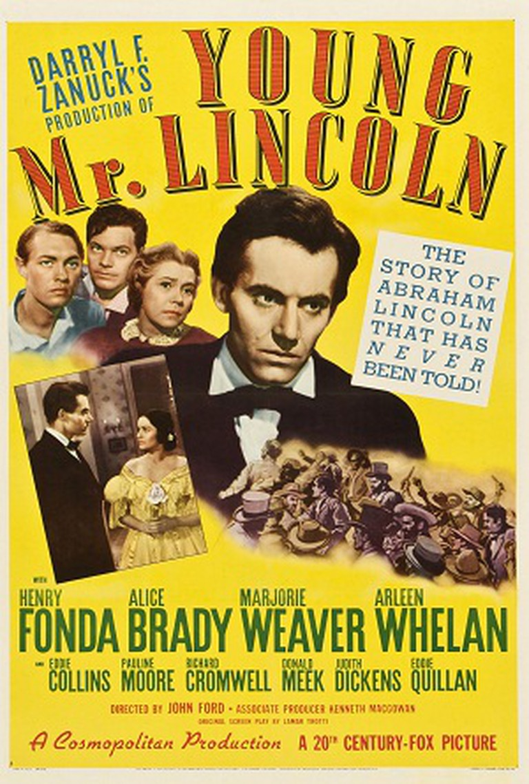 Young Mr. Lincoln Poster | © 20th Century Fox/WikiCommons Fair Use