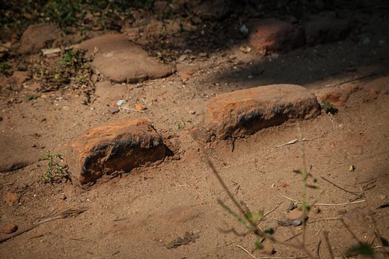 Ancient Roman bricks/Image courtesy Edoardo Grassi