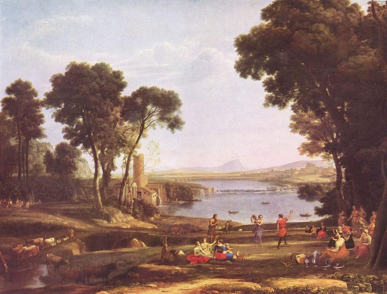 Claude Lorrain, The Marriage of Isaac and Rebekah, 1648