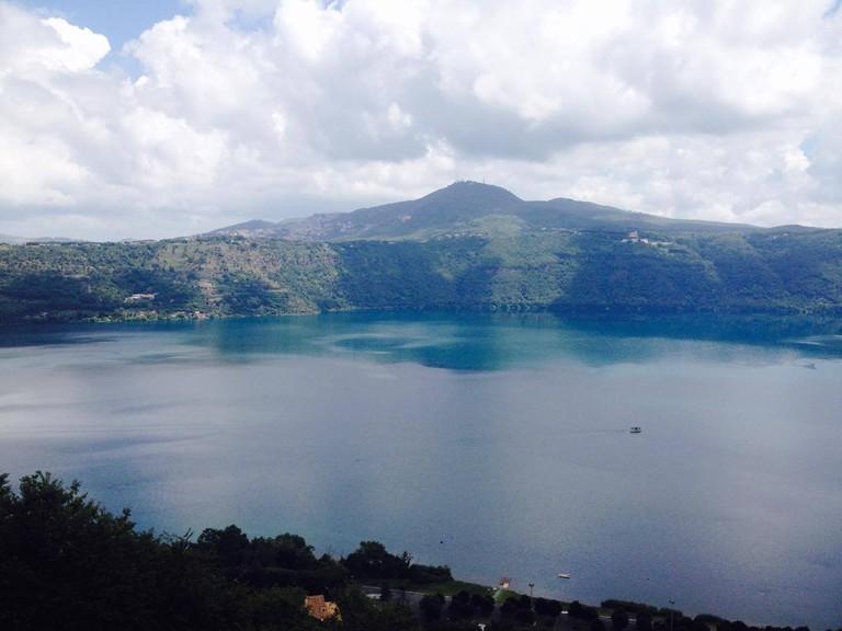 Castel Gandolfo Lake | Courtesy of Chiara Bellani