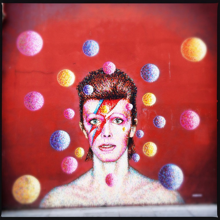 David Bowie's mural in Brixton, where he was born and raised | Louise McLaren/Flickr