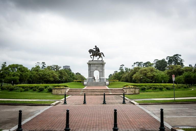 Sam Houston at Hermann Park | © brando.n/Flickr