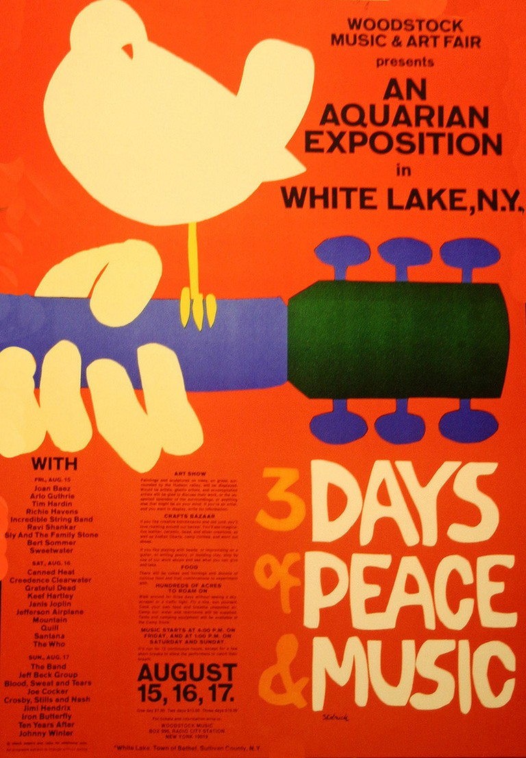 Woodstock Music Festival/1969 | © David/Flickr