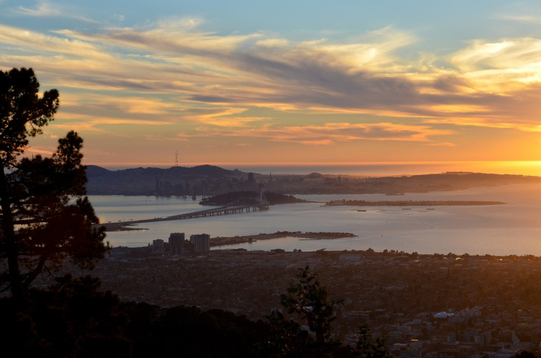 Sunset View From Grizzly Peak