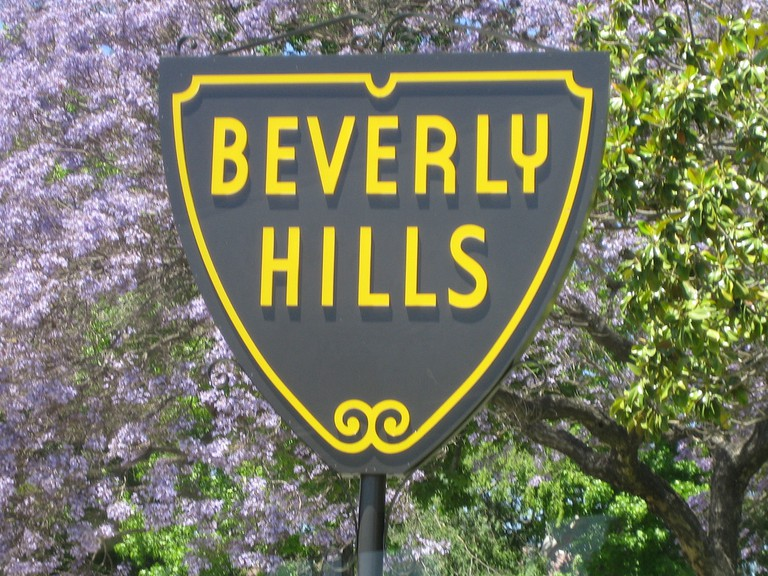 Beverly Hills Sign | ©Jon Lee Clark /Flickr