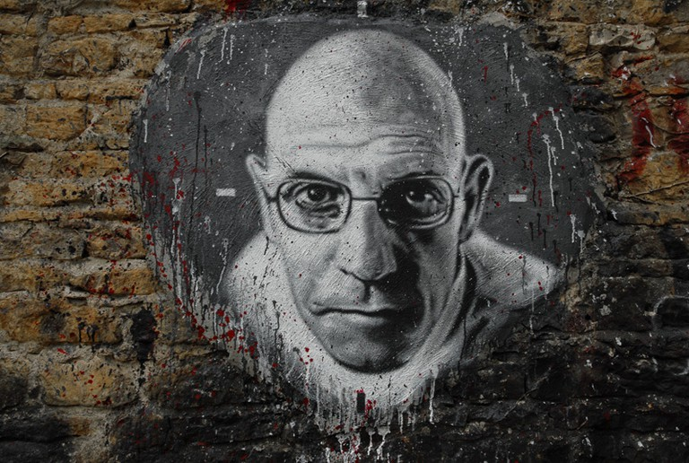 Painting of Michel Foucault | © Thierry Ermann (https://www.flickr.com/photos/home_of_chaos/2550922632)