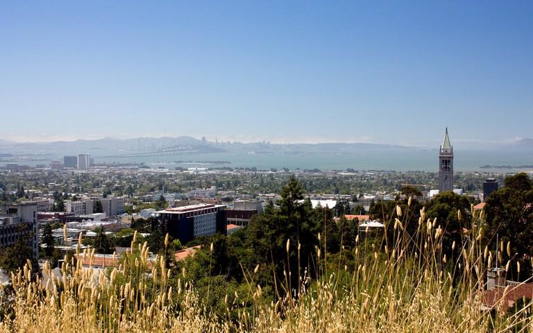 View Of UC Berkeley Campus