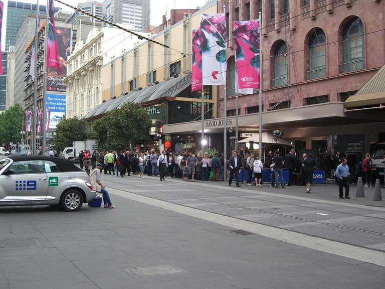 Crowds – Today Show at Bourke Street Mall