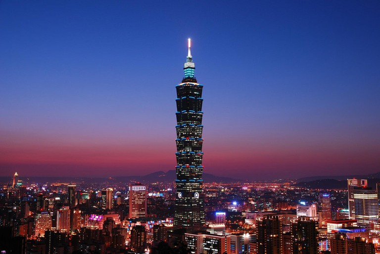 Be impressed by the soaring Taipei 101, Taiwan