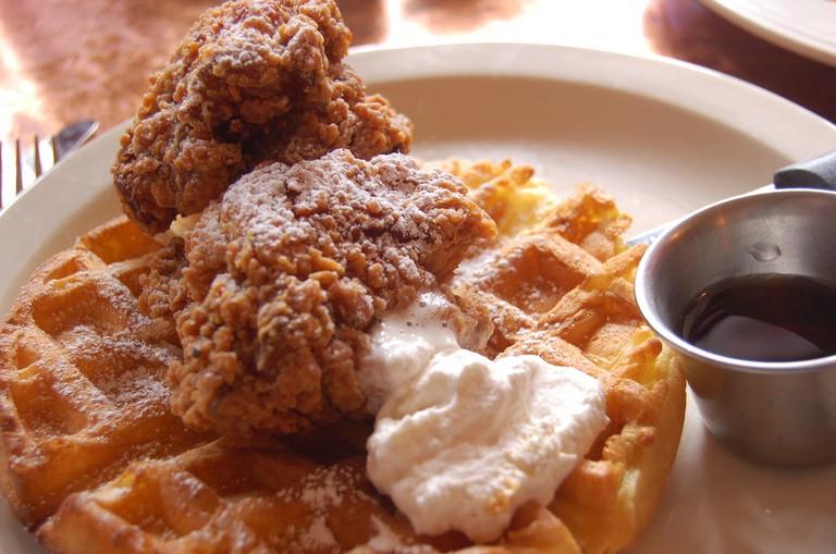 Tupelo Chicken Waffles | ©snowpea&bokchoi/flickr