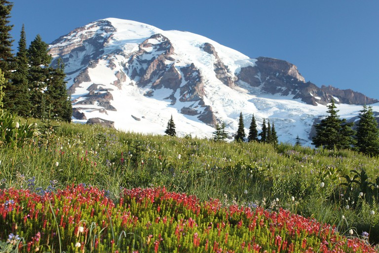 Mount Rainier National Park | ©Jeff/Flickr
