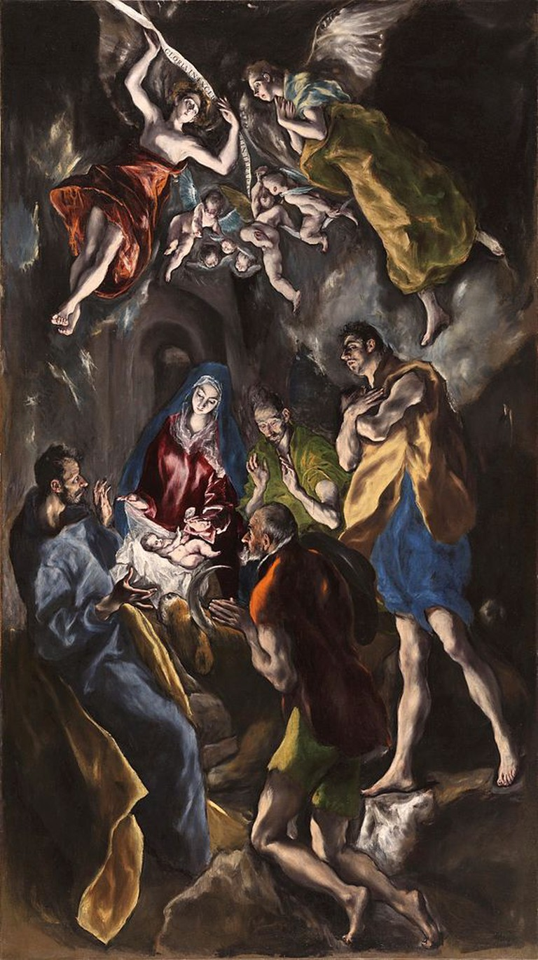 El Greco, The Adoration of the Shepherds, 1612-14 | © Museo del Prado/WikiCommons
