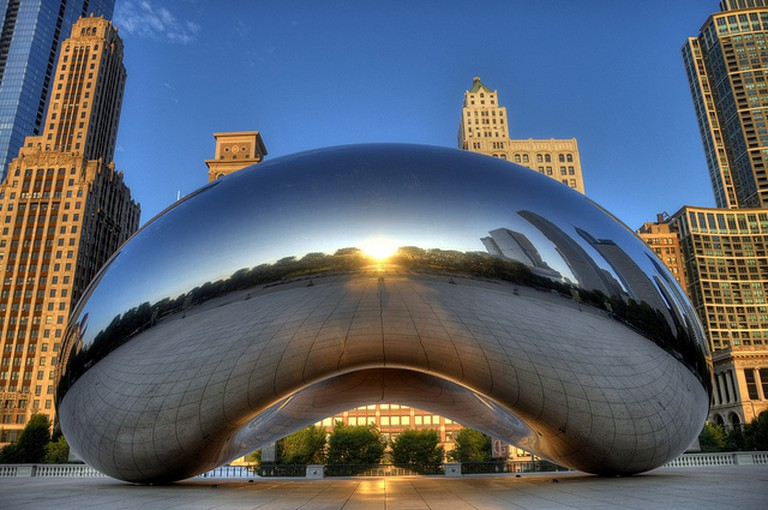 'Cloud Gate' by Anish Kapoor