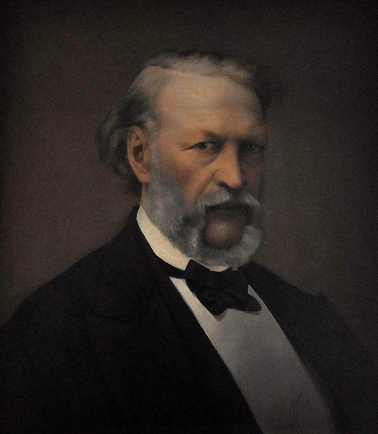 Hendrik Conscience by Henri De Pondt, 1870/©WikiCommons