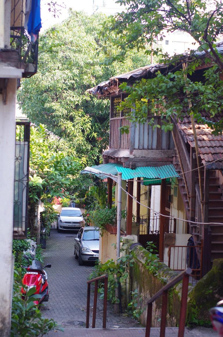 Pali village, typical scene