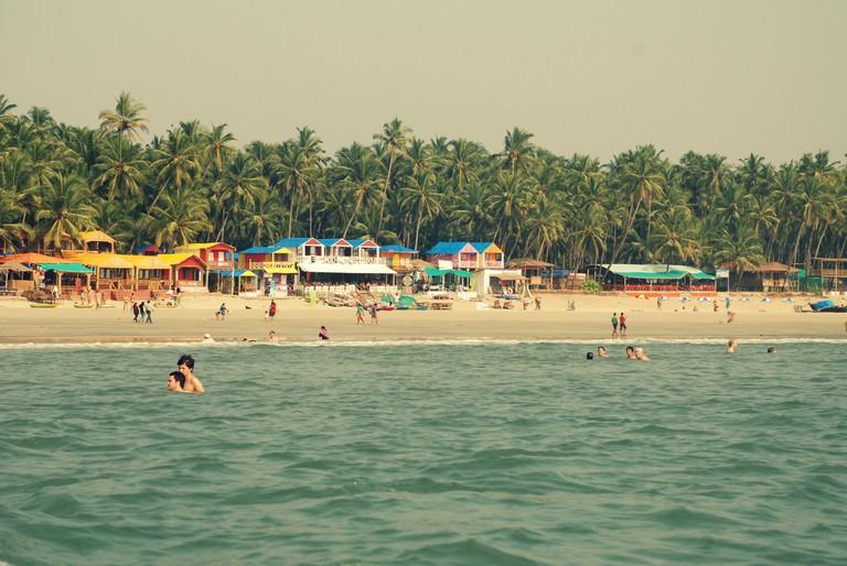 Postcard perfect Palolem beach