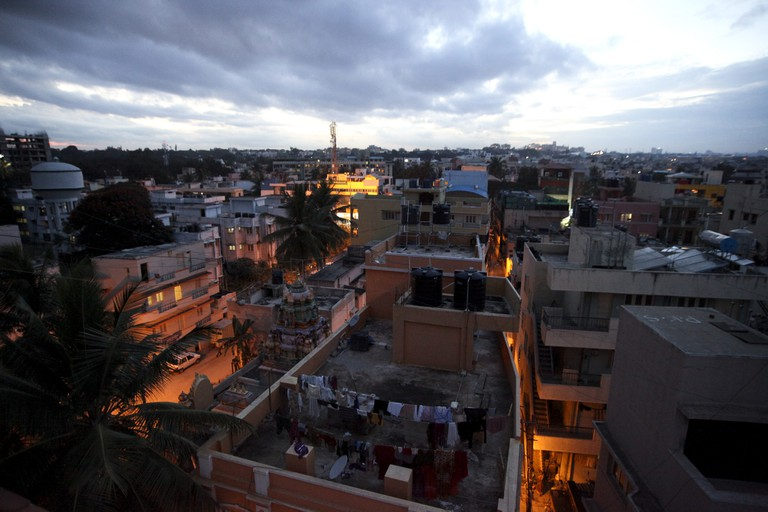 A bird's eye view of Appareddy Palya, Indiranagar