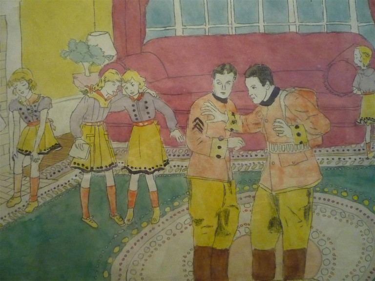 Artwork by Henry Darger | © dionyssos1/Flickr
