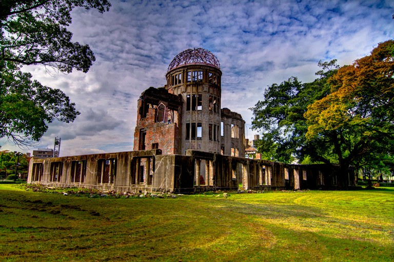 A-Bomb Dome, Hiroshima Peace Memorial Park, Japan