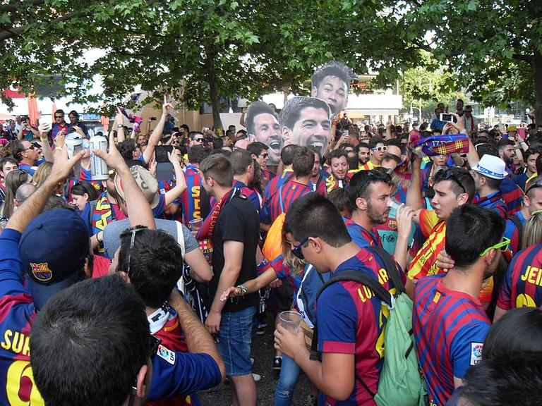 Barca Fans | © Ferran Cornellà via wikicommons