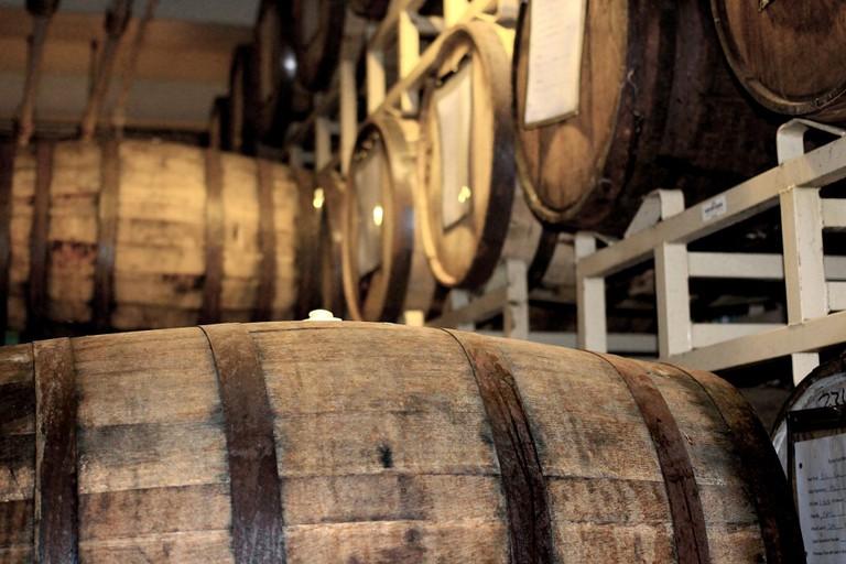 Whisky Casks  Public Domain Photo