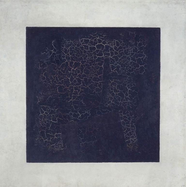 Kazimir Malevich, Black Square, 79.5 x 79.5 cm, Tretyakov Gallery, 1915 | © Coldcreation/WikiCommons