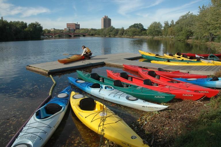 Image Courtesy of Charles River Canoe & Kayak