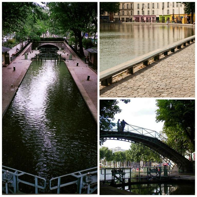 Paris' Canals | ©noah mclaughlin/Flickr, Mitch Barrie/Flickr, Tonio Vega/Flickr